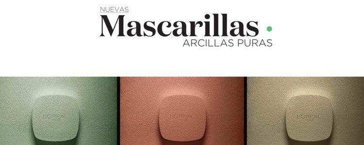 Nueva gama de mascarillas faciales de L'Oreal Paris