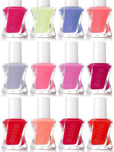 Essie presenta la nueva gama de colores para sus innovadores 'Gel Couture'