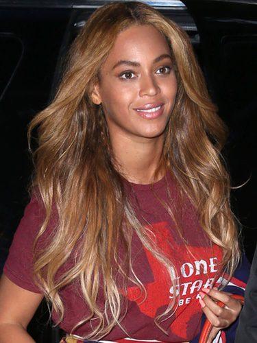 Beyoncé con ondas sueltas