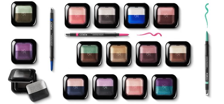 Bright Duo Baked Eyeshadows y Lasting Precision Automatic Eyeliner