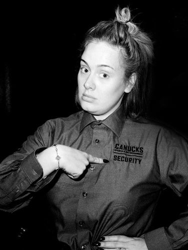 Adele sin maquillar en Instagram