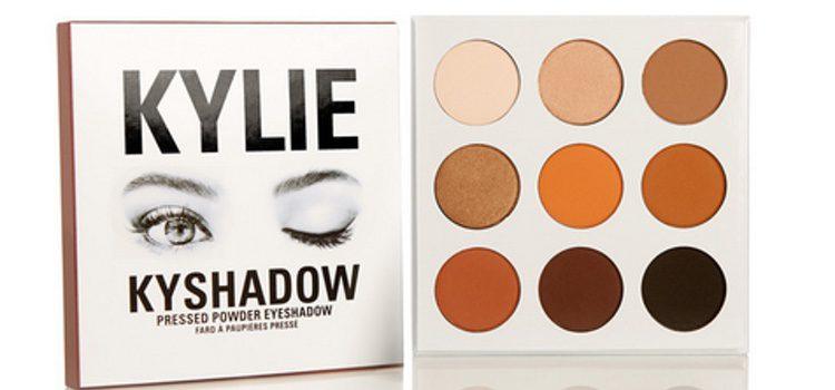 Paleta de 9 sombras de ojos de Kylie Jenner