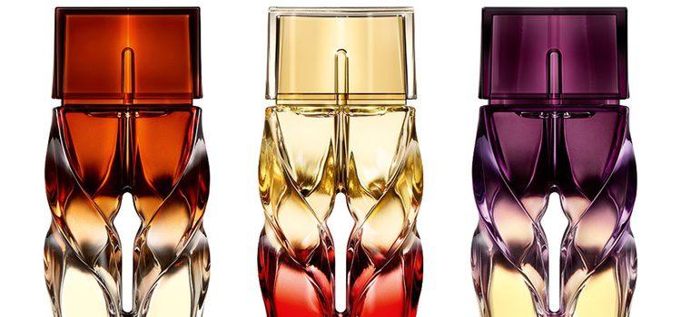 'Tornade Blonde', 'Bikini Questa Sera' y 'Trouble in Heaven', los primeros perfumes de Louboutin