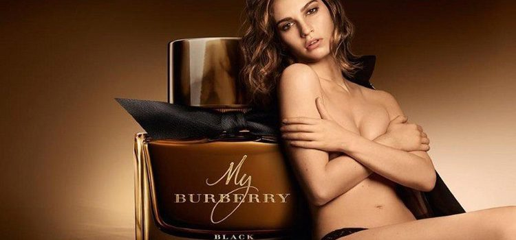 My Burberry Black y Lily James