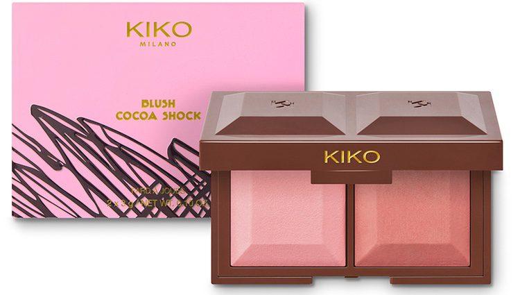 Uno de los coloretes 'Blush Cocoa Shock' de Kiko