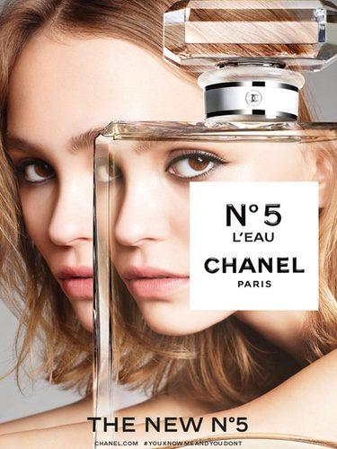 Lily-Rose Depp, embajadora de Chanel nº5