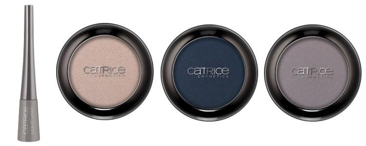 Catrice apuesta por un maquillaje para ojos en champán, azul y gris con 'Retrospective'
