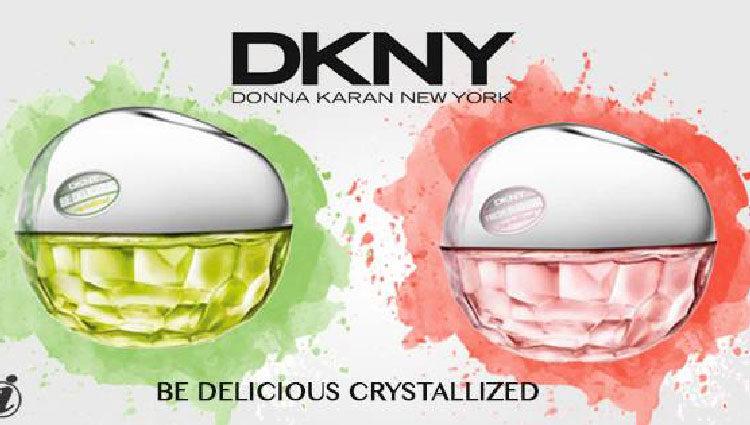 Varias líneas de DKNY Be Delicious Crystallized