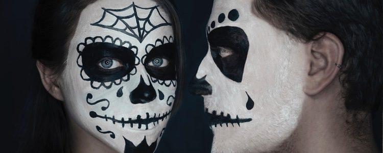 Maquillaje calavera mexicana