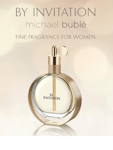 'By Invitation', nueva fragancia de Michael Bublé