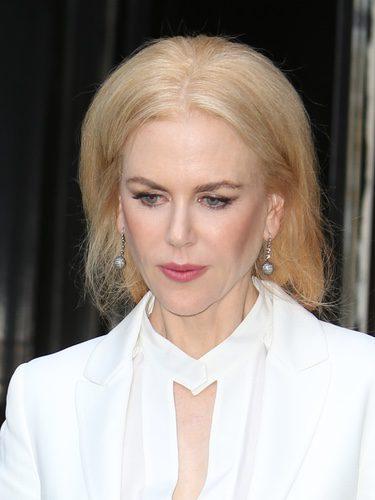Nicole Kidman con el pelo ahuecado