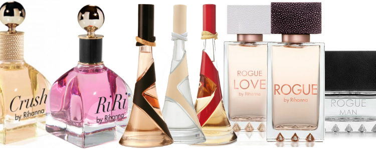 Los distintos perfumes de Rihanna que preceden a 'Kiss'