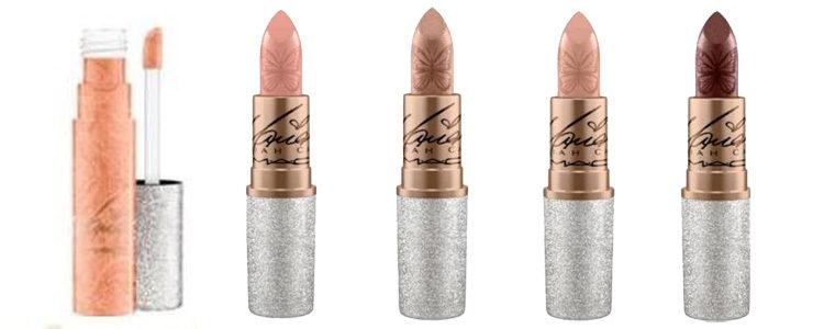 Distintos labiales de la colección de maquillaje de Mariah Carey x MAC
