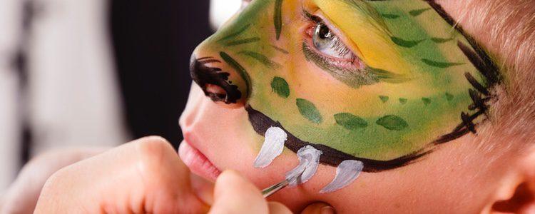Un buen disfraz de Halloween exige un gran maquillaje