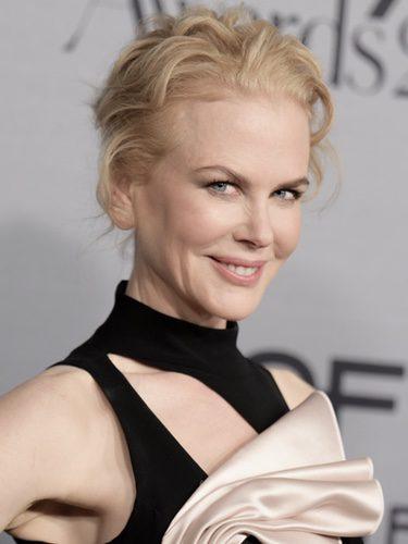 Nicole Kidman con rizos alocados