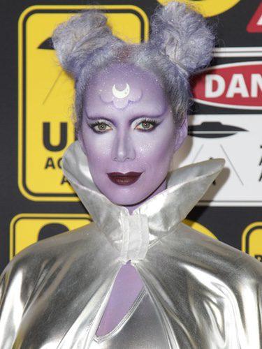 Leona Lewis disfrazada de alien