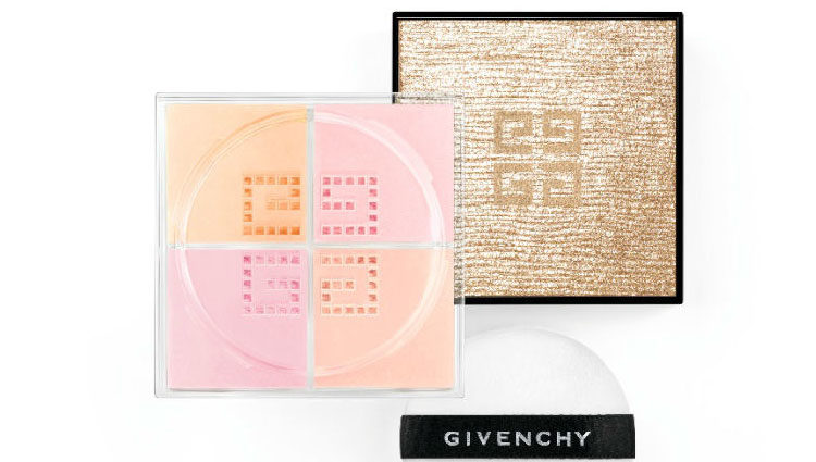 Polvos ne colores pastel de Givenchy