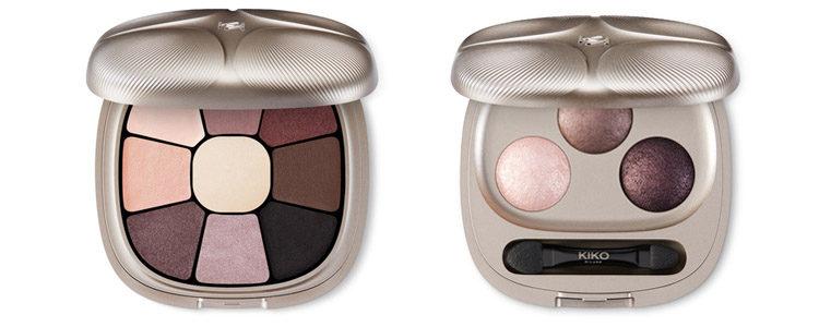 Las paletas de sombras de ojos de la nueva colección navideña de Kiko