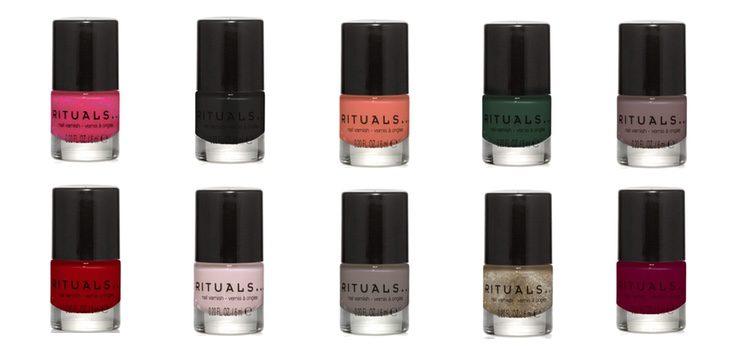 Los colores de 'Miracle Nail Varnishes'