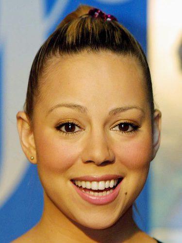 Mariah Carey sin cejas
