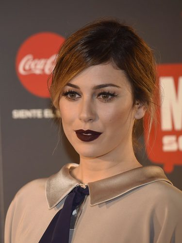Blanca Suárez con un labial berenjena