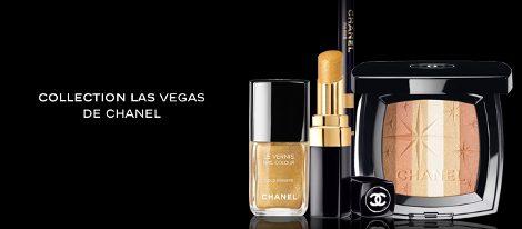 Cosméticos de la colección Las Vegas de Chanel
