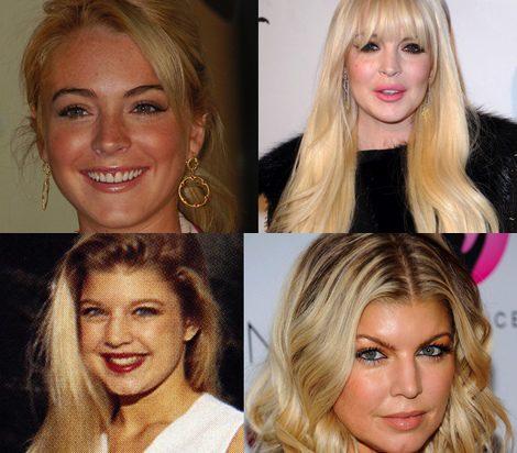 Lindsay Lohan y Fergie
