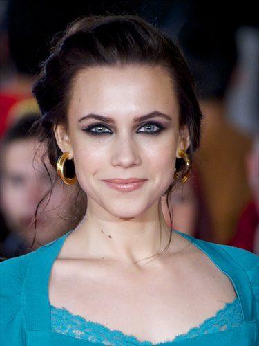 Aura Garrido con un look de mirada intensa