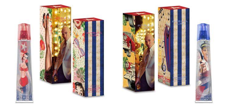 'Cuba Women' y 'Cuba Men', los dos nuevos perfumes de Pitbull