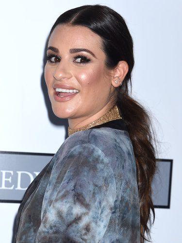 Lea Michele se pasa con el highlighter