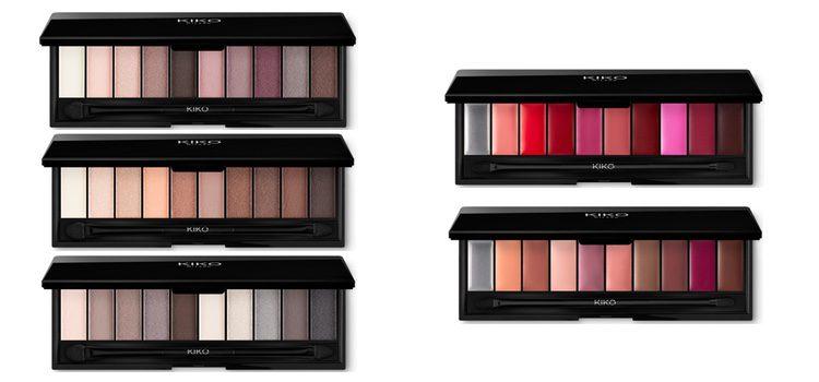 'Smart Palette': a la izquierda las paletas de sombras y a la derecha las de labiales