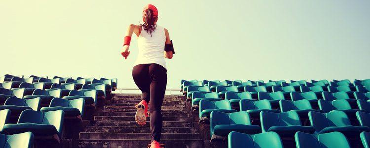 Siempre que puedas sube y baja por las escaleras
