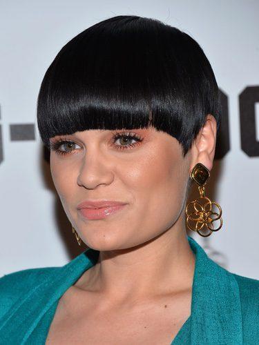 Jessie J con un corte a lo tazón