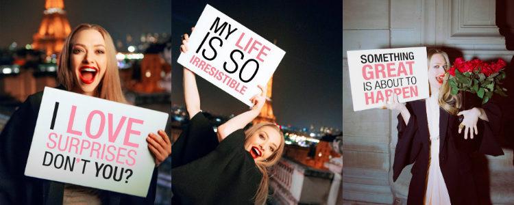 La actriz Amanda Seyfried es la imagen de la línea 'Live Irrésistible' de Givenchy