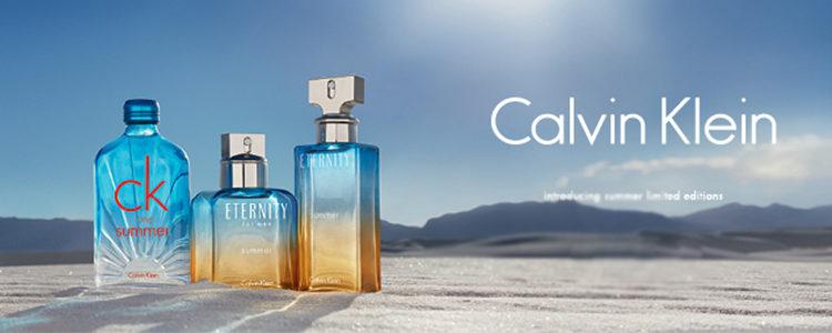 Colección de 'Eternity Summer' y 'One Summer' de Calvin Klein