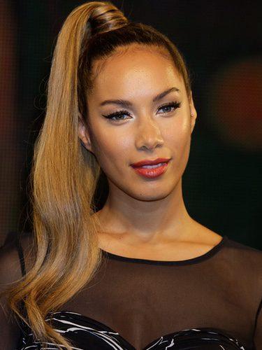 Leona Lewis con una coleta alta