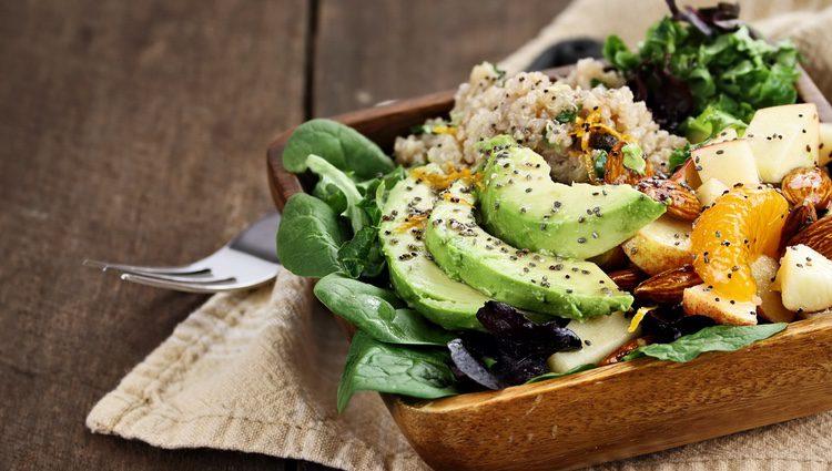 Es importante seguir una dieta a base de productos sin grasa