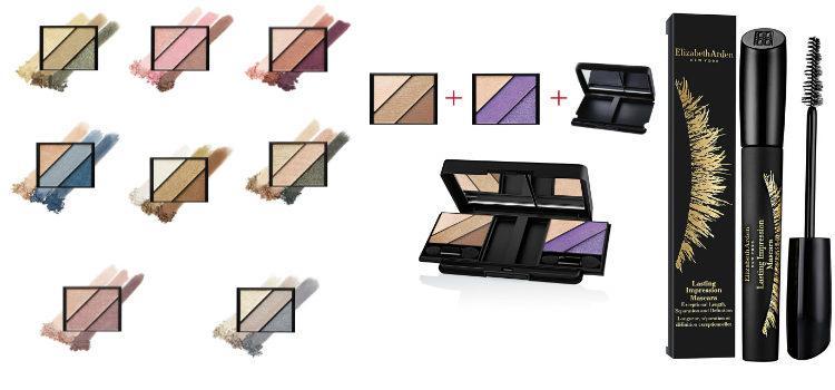 'Eyeshadow Trio Palette' y 'Lasting Impression' de Elizabeth Arden