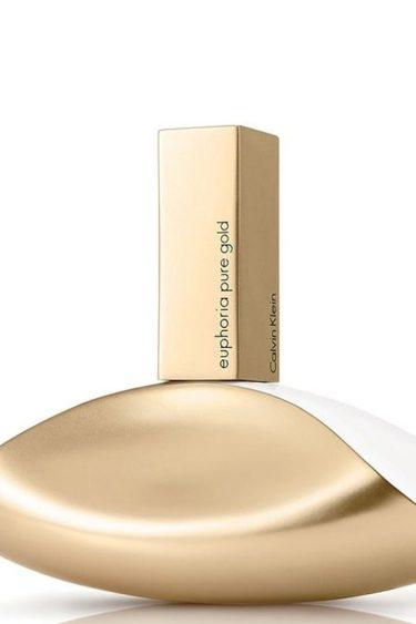 El nuevo perfume Euphoria Pure Gold de Calvin Klein