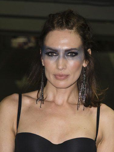 Nieves Álvarez con un maquillaje de sirena