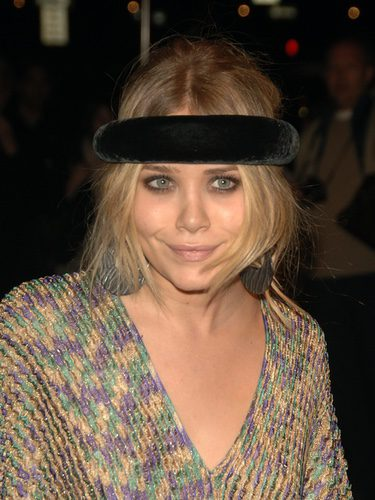 Mary-Kate Olsen con turbante