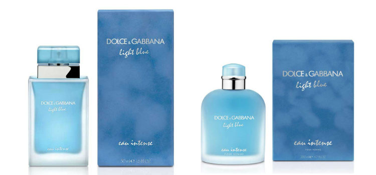 'Light Blue Eau Intense' y 'Light Blue Pour Homme Eau Intense' de Dolce & Gabbana