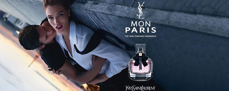 Anuncio de la campaña de 'Mon Paris' de Yves Saint Laurent