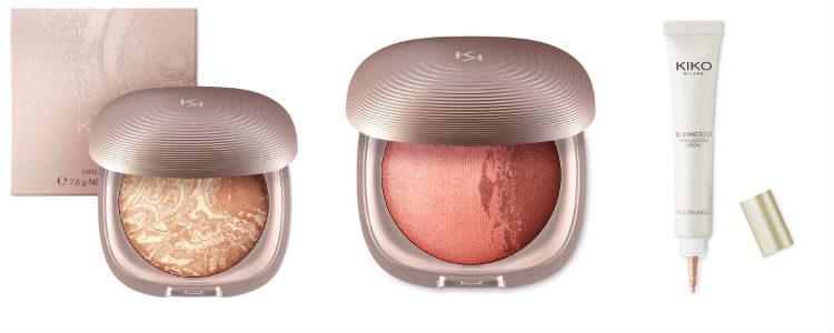 Los polvos bronceadores, el blush y el ilumunador de 'Summer 2.0' de Kiko