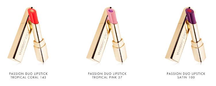 'Passion Duo Lipstick', los labiales de 'Tropical Spring'