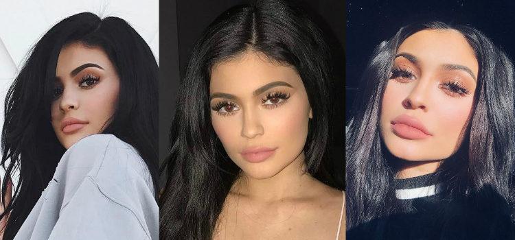 Las extensiones de pestañas son un must en los looks de Kylie Jenner