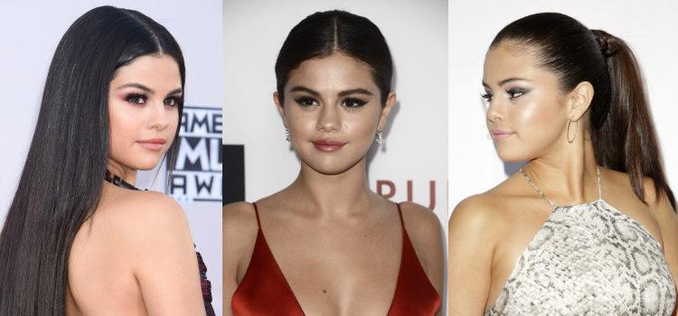 Para dar luz al rostro, Selena Gomez apuesta por la técnica del strobing