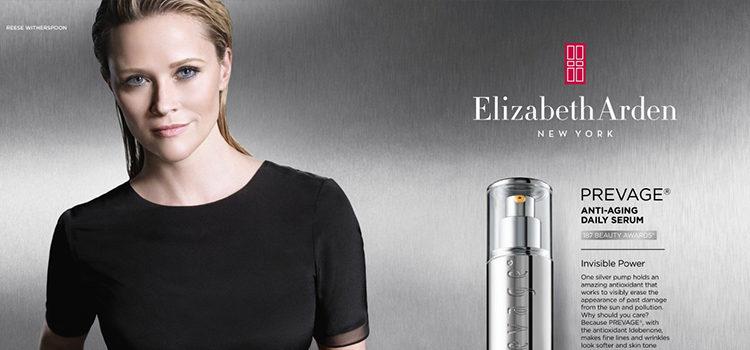 Reese Witherspoon se convierte en la nueva embajadora de Elizabeth Arden