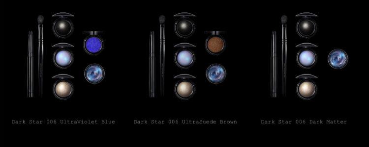 Los tres kits de sombras de la colección 'Dark Star 006' de Pat McGrath