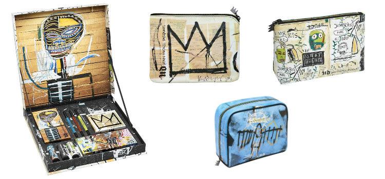 Urban Decay ha incluído tres neceseres ilustrados con los diseños de Basquiat y un pack con todos los productos